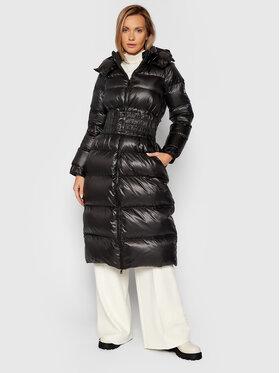 TWINSET TWINSET Зимно палто 212TP214M Черен Regular Fit