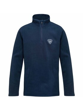 Rossignol Rossignol Bluză Boy ½ Zip Fleece RLIYL05 Bleumarin Regular Fit