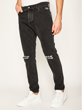 MSGM MSGM Jeans Regular Fit 2840MP57L 207073 Noir Regular Fit