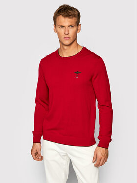 Aeronautica Militare Aeronautica Militare Sweater 212MA1344L415 Piros Urban Fit