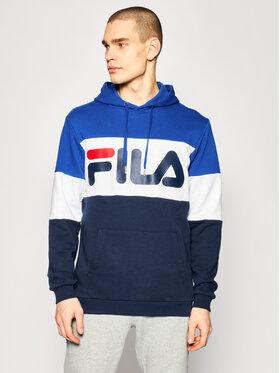 Fila Fila Μπλούζα Night Blocked 688051 Σκούρο μπλε Regular Fit