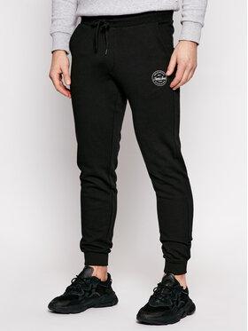 Jack&Jones Jack&Jones Παντελόνι φόρμας Gordon 12165322 Μαύρο Regular Fit