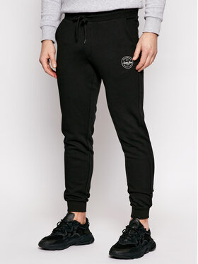 Jack&Jones Jack&Jones Spodnie dresowe Gordon 12165322 Czarny Regular Fit