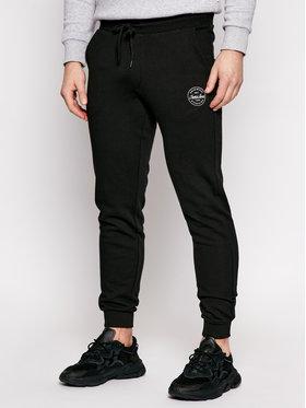 Jack&Jones Jack&Jones Teplákové nohavice Gordon 12165322 Čierna Regular Fit