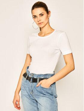 Tommy Hilfiger Tommy Hilfiger T-shirt Essential WW0WW25268 Blanc Skinny Fit