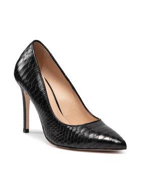 Solo Femme Solo Femme Pantofi cu toc subțire 34272-A8-M31/E45-04-00 Negru