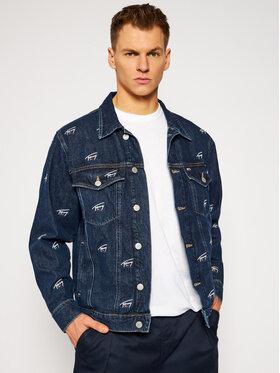 Tommy Jeans Tommy Jeans Kurtka jeansowa Trucker DM0DM09522 Granatowy Oversize