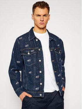 Tommy Jeans Tommy Jeans Veste en jean Trucker DM0DM09522 Bleu marine Oversize