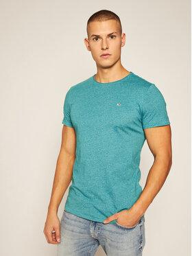 Tommy Jeans Tommy Jeans T-Shirt Tjm Essential Jaspe Tee DM0DM08736 Grün Regular Fit