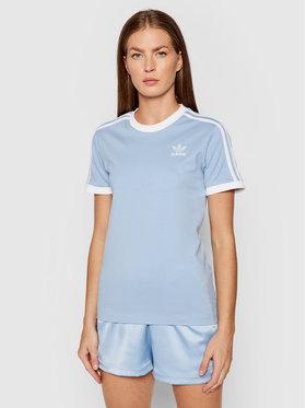 adidas adidas Tricou adicolor Classics 3-Stripes Tee H33574 Albastru Regular Fit