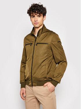 Geox Geox Átmeneti kabát Garlan M1221H T2600 F3230 Zöld Regular Fit