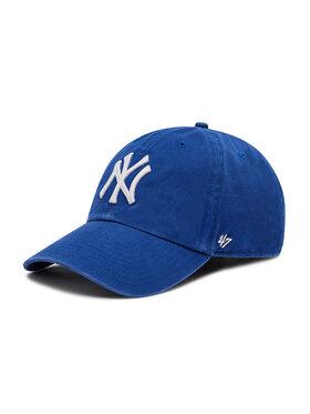 47 Brand 47 Brand Шапка с козирка New York Yankees B-RGW17GWS-RY Син