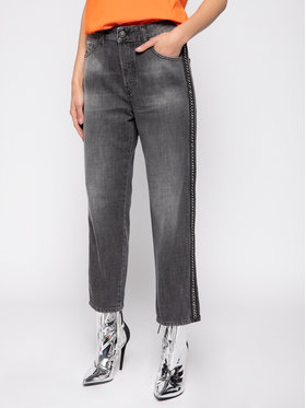Diesel Diesel Jeansy Regular Fit D-Aryel 00SE6T 0096I Szary Straight Fit