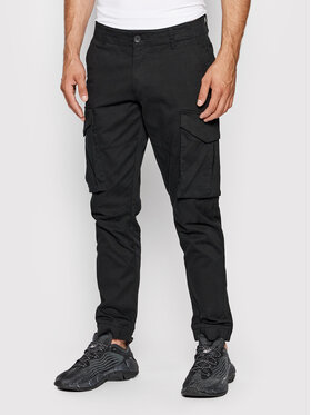 Only & Sons Only & Sons Pantaloni di tessuto Kim Cargo 22020490 Nero Regular Fit