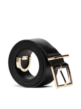 Tommy Hilfiger Tommy Hilfiger Cintura da donna Th Square Buckle Belt 3.5 AW0AW10258 Nero