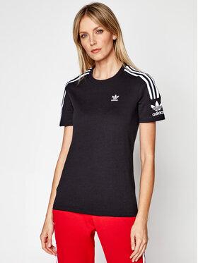 adidas adidas Marškinėliai Lock Up ED7530 Juoda Regular Fit