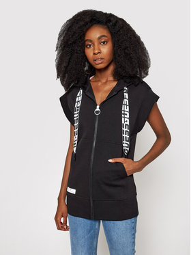 Guess Guess Pulóver Long Zip O1GA60 KA3P1 Fekete Regular Fit