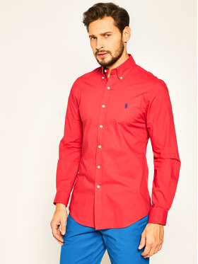 Polo Ralph Lauren Košeľa Classics 710787320 Červená Slim Fit