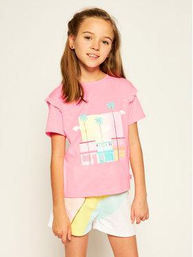 Billieblush Billieblush T-shirt U15721 Rose Regular Fit