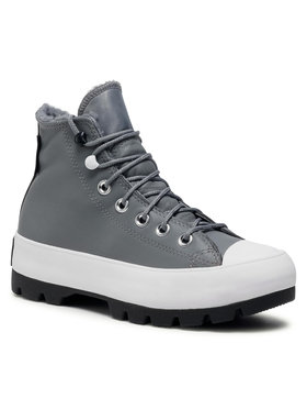 Converse Converse Кецове Ctas Lugged Winter Hi GORE-TEX 569555C Сив