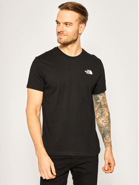 The North Face The North Face T-shirt Simple Dome NF0A2TX5JK3 Crna Regular Fit