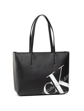 Calvin Klein Jeans Calvin Klein Jeans Rankinė Shopper 29 K60K606859 Juoda
