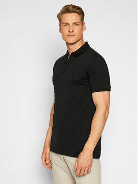 Polo Ralph Lauren Polo Ralph Lauren Тениска с яка и копчета Ssl 710737087005 Черен Slim Fit