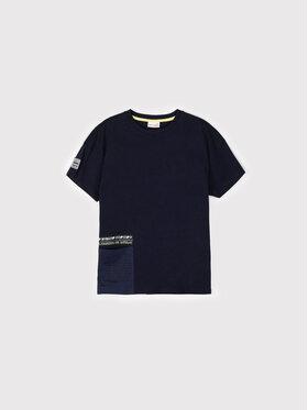 Coccodrillo Coccodrillo T-Shirt ZC1143201UNS Granatowy Oversize