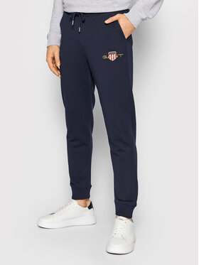 Gant Gant Spodnie dresowe Archive Shield 4204916 Granatowy Regular Fit