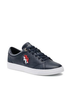Tommy Hilfiger Tommy Hilfiger Sneakersy Monogram Casual Sneaker FW0FW05794 Granatowy