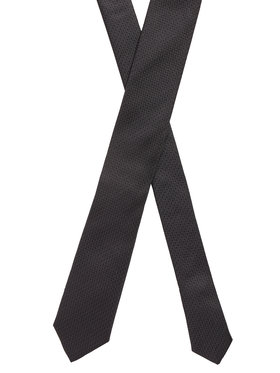 Boss Boss Cravate Tie 6 Cm 50448773 Noir
