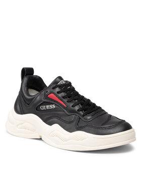 Guess Guess Sneakers FMBAS8 LEA12 Negru