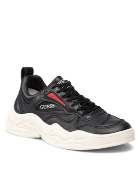 Guess Guess Sneakers FMBAS8 LEA12 Nero