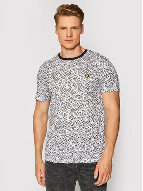 Lyle & Scott Lyle & Scott T-Shirt Printed Tee TS1481SP Biały Regular Fit