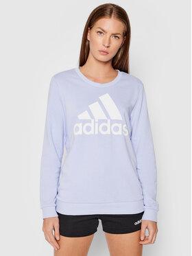 adidas adidas Bluza H07791 Fioletowy Regular Fit