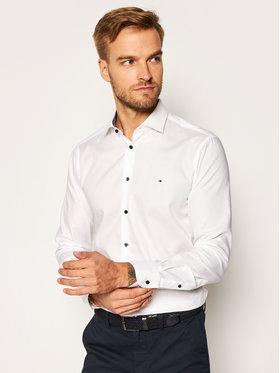 Tommy Hilfiger Tailored Tommy Hilfiger Tailored Koszula Twill TT0TT08326 Biały Slim Fit