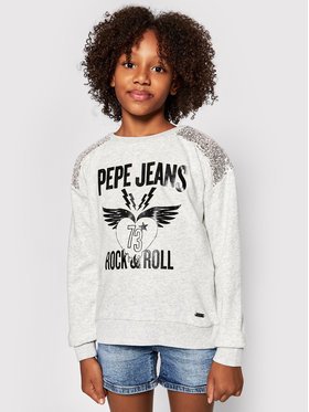 Pepe Jeans Pepe Jeans Pulóver Lily PG581177 Szürke Regular Fit