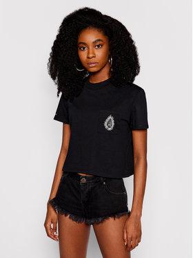 Volcom Volcom T-Shirt Coral Morph B3512108 Černá Relaxed Fit