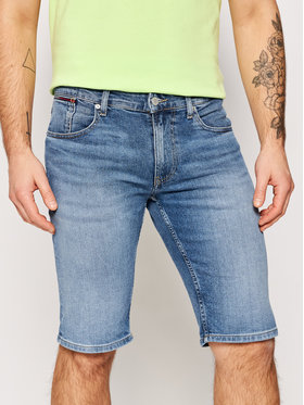 Tommy Jeans Tommy Jeans Szorty jeansowe Ronnie DM0DM10554 Granatowy Relaxed Fit