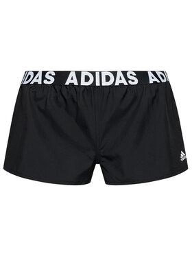 adidas adidas Pantaloni scurți de plajă FJ5089 Negru Slim Fit