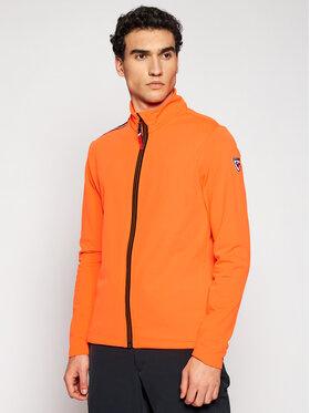 Rossignol Rossignol Bluza Palmares Full Zip RLIML05 Pomarańczowy Slim Fit