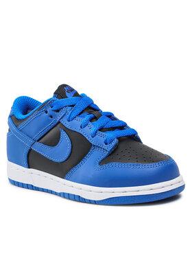 Nike Nike Cipő Dunk Low (Ps) CW1588 001 Fekete