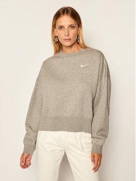NIKE NIKE Sweatshirt Essential CK0168 Grau Loose Fit