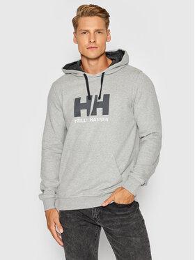 Helly Hansen Helly Hansen Bluza Logo 33977 Szary Regular Fit