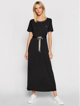 Liu Jo Sport Liu Jo Sport Ежедневна рокля TA1034 J6072 Черен Regular Fit