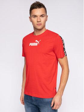 Puma Puma T-Shirt Amplified 581384 11 Rot Regular Fit