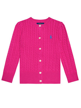 Polo Ralph Lauren Polo Ralph Lauren Cardigan Mini Cable 311543047013 Rose Regular Fit