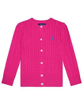 Polo Ralph Lauren Polo Ralph Lauren Kardigan Mini Cable 311543047013 Różowy Regular Fit