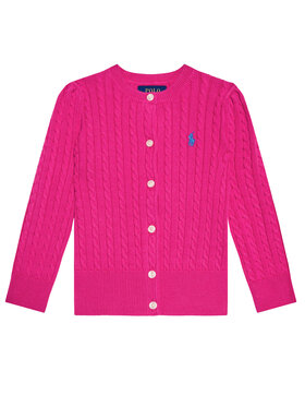 Polo Ralph Lauren Polo Ralph Lauren Strickjacke Mini Cable 311543047013 Rosa Regular Fit
