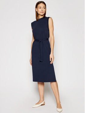 Marella Marella Robe de jour Bino 36210315 Bleu marine Regular Fit